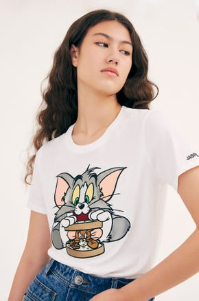 Tom and Jerry Sandwich T-Shirt