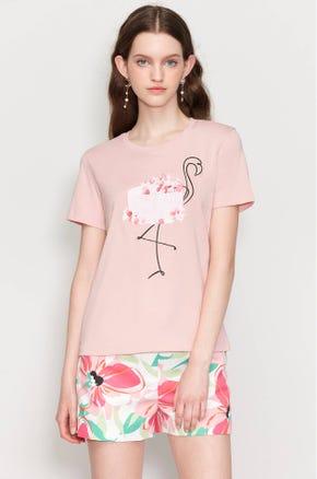 Flamingo Cake T-Shirt