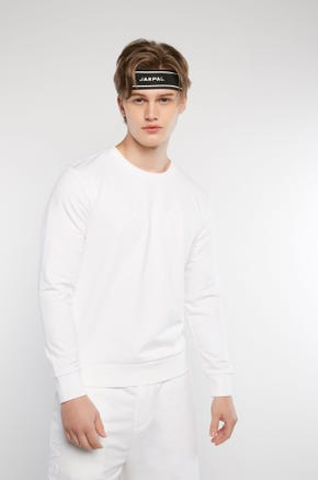 Embossed Logo Long Sleeved T-Shirt