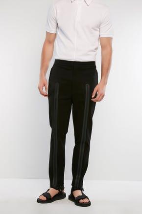 Zip Front Track Pants