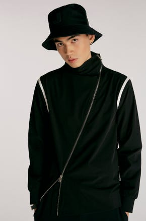 Asymmetric Track Jacket