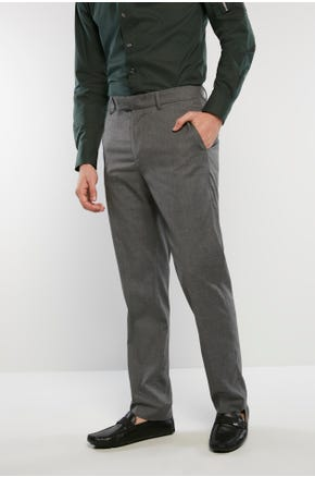 Grey Suit Pants