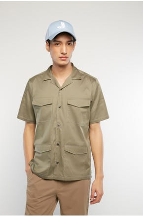 Resort Collar Utility Shirt