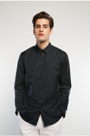 Stretch Button Up Shirt