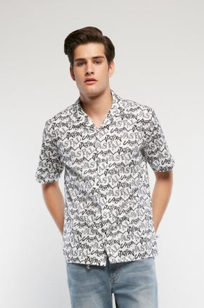 Graphic Logo Resort Shirt