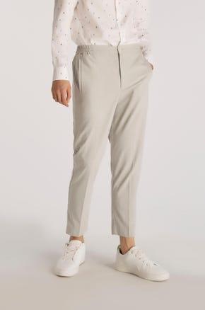 Cropped Grey Pants