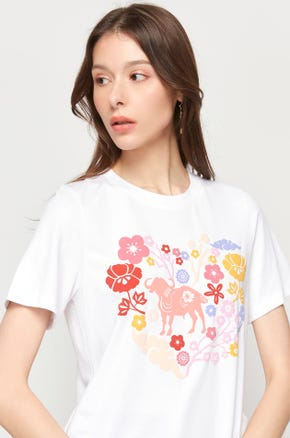 Floral Ox T-Shirt