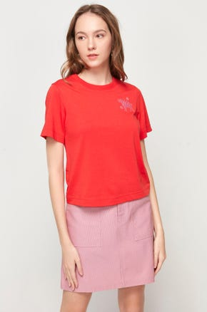 Embroidered Ox T-Shirt