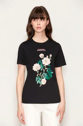 Beaded Rose T-Shirt