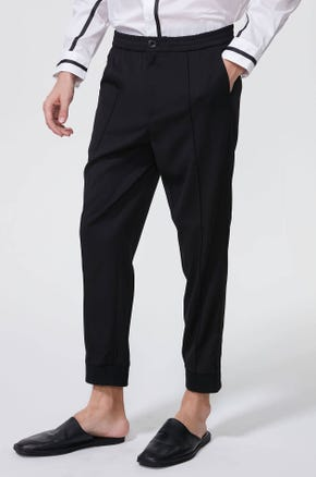 Pleated Elasticated Waist Pants
