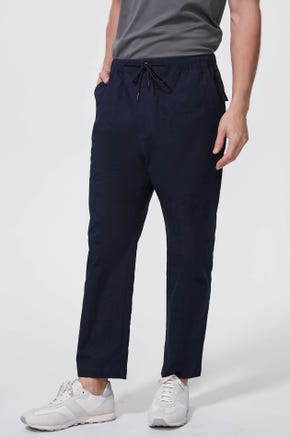 Jacquard Drawstring Pants