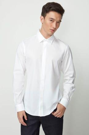 Embroidered Poplin Shirt