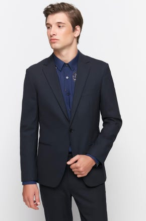 Single Button Suit Jacket