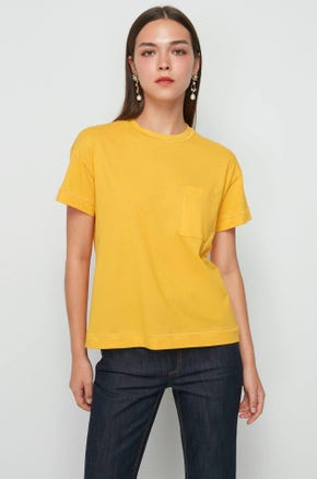Yellow Pocket T-Shirt