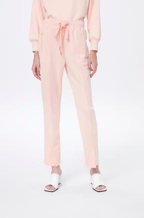 Front Slit Drawstring Pants