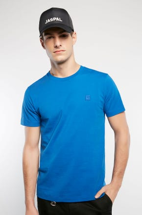 Basic Color T-Shirt - Blue