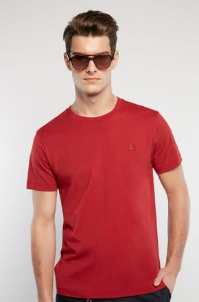 Basic Color T-Shirt - Red