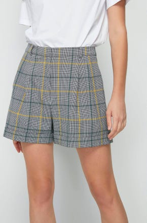 Glen Plaid Shorts
