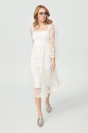 Sheer Daisy Dress