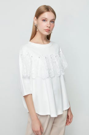 Pearl Necklace Blouse