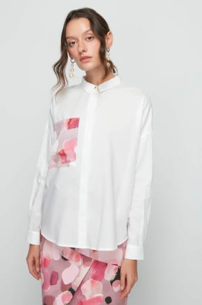 Watercolor Pocket Shirt