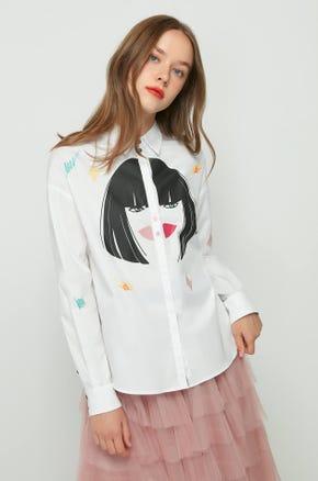 Abstract Facial Shirt