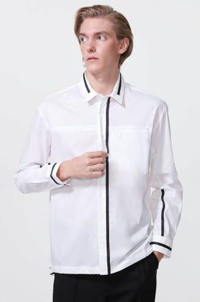 Contrast Toggle Shirt