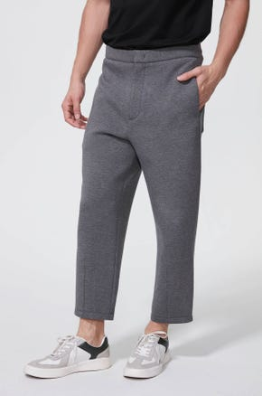 Cropped Wide Leg Sweat Pants