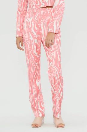 Pink Graphic Pants
