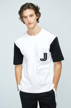 Oversized Color Block T-shirt