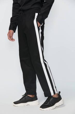 Side Stripe Drawstring Pants