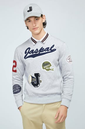 Logo Patch Sweater