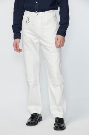 White Carpenter Jeans