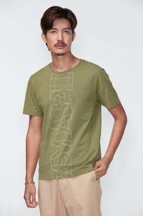 Logo Overlap T-Shirt