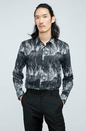 Town Print Shirt