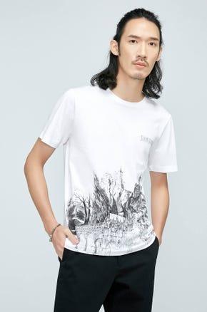 Town Print T-Shirt
