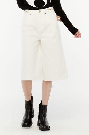 White Culotte Jeans