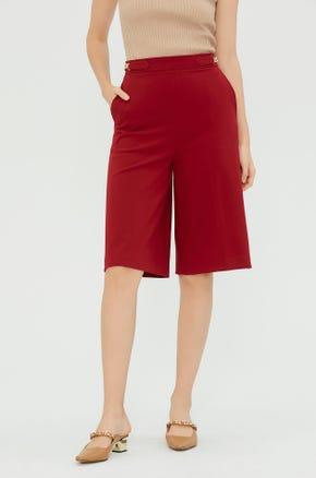 Chain Culotte Pants