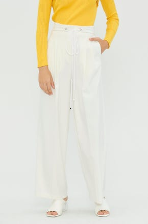 Front Pleated Pants