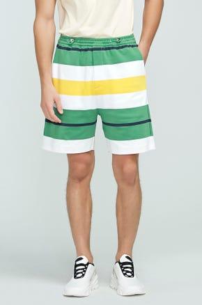 Striped Toggle Shorts