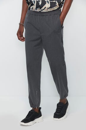 Formal Ankle Zip Joggers
