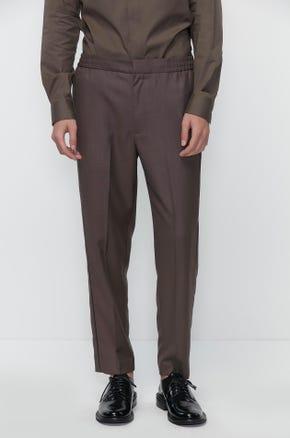 Elasticated Waist Suit Pants