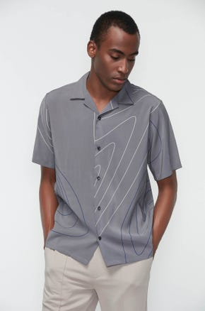 Grey Resort Shirt