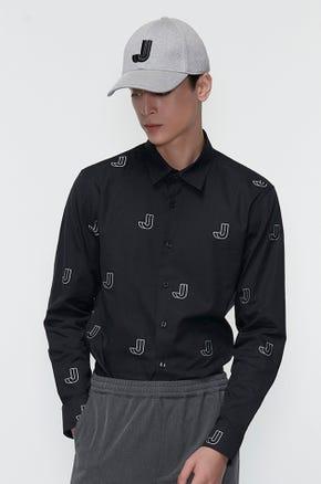 Stitched Logo Shirt