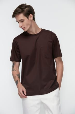 Mercerized Pocket T-Shirt