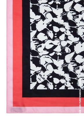 Floral Printed Slik Scarf