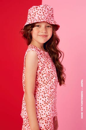 Floral Shadow Bucket Hat