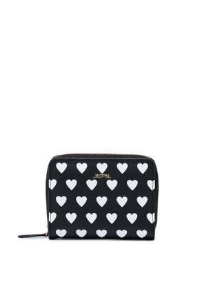Leather Heart Short wallet