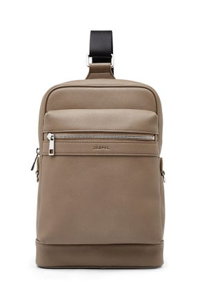 Grained Sling Backpack