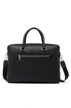 Grained Briefcase